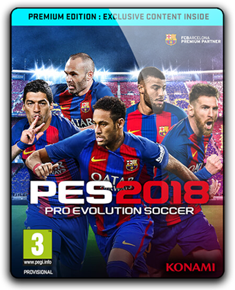 PES 2018 / Pro Evolution Soccer 2018 (2017/PC/RUS/ENG)