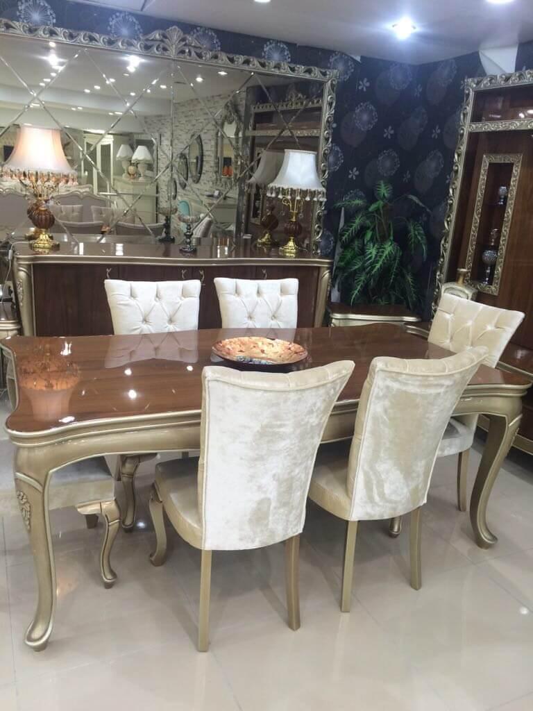 მაგიდა სკამები დესაუ ხე რუმინეთი