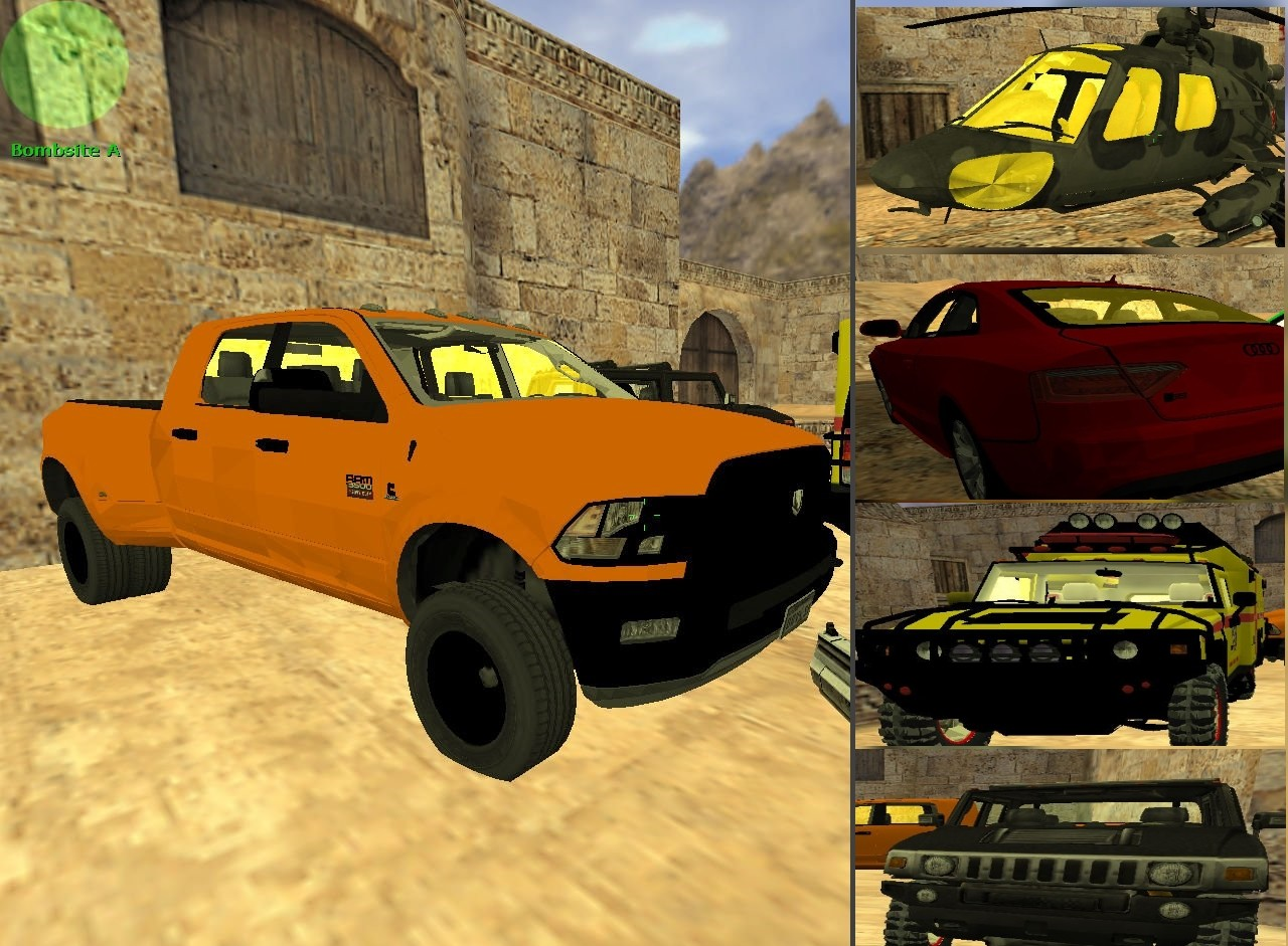 "CS 1.6 ""Car Model Packs 1.1"""