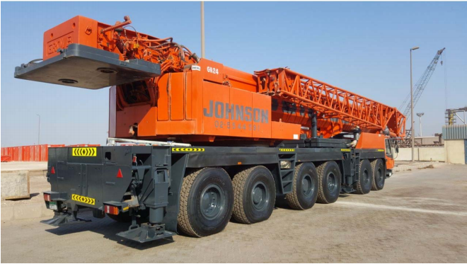 Model GROVE GMK 6220L 220 ton 2017-20188. კადრი № 4