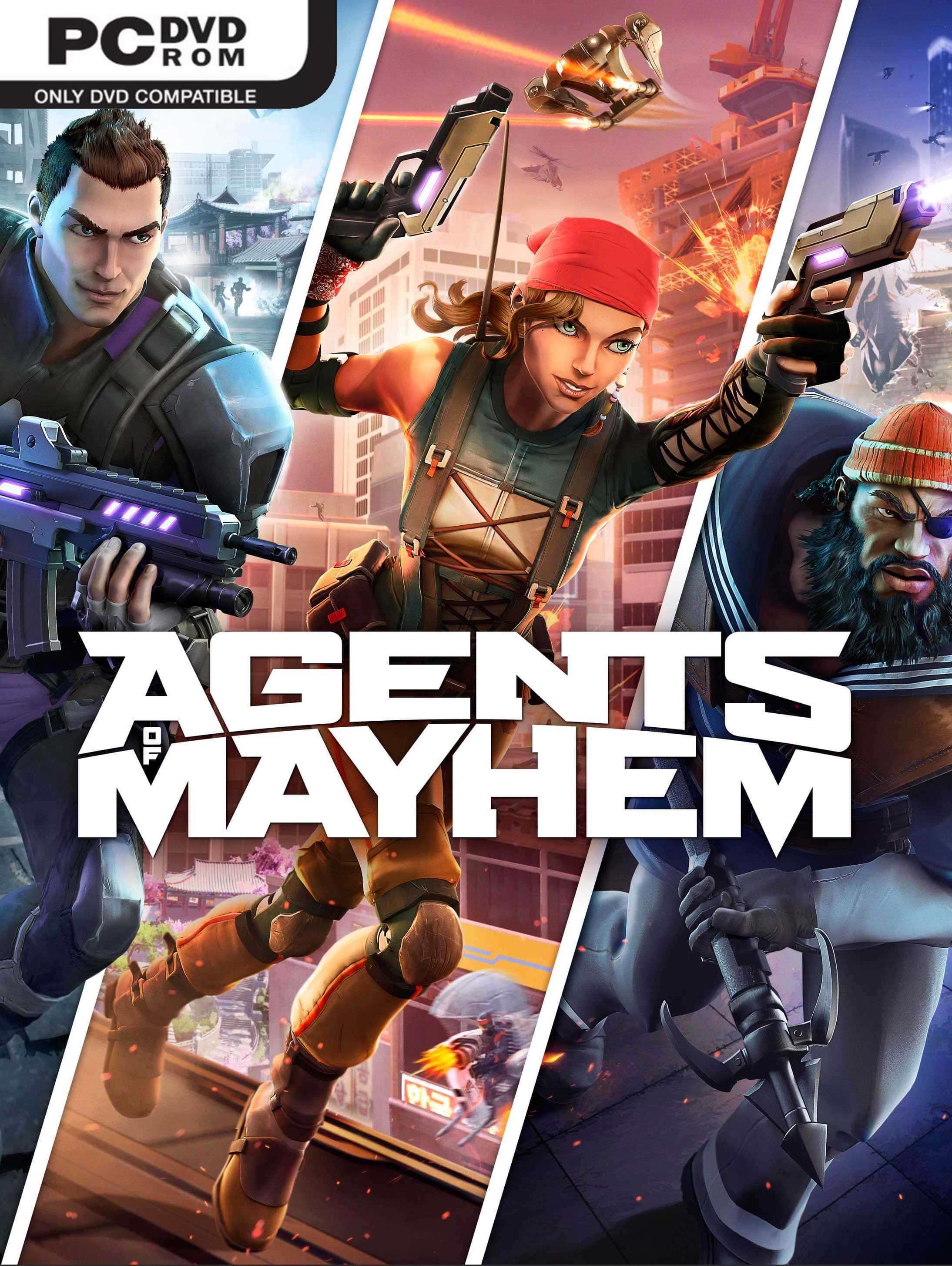 Agents of Mayhem (2017) PC Repack | FitGirlRe