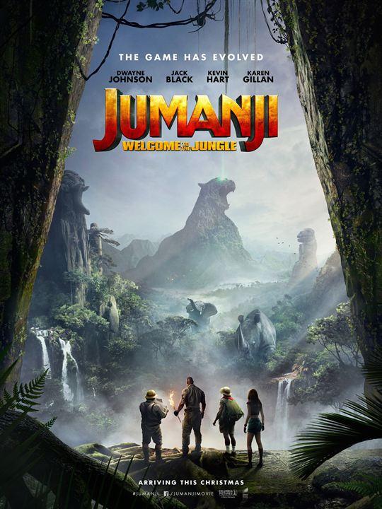 JUMANJI: WELCOME TO THE JUNGLE / ჯუმანჯი აურზაური ჯუნგლებში