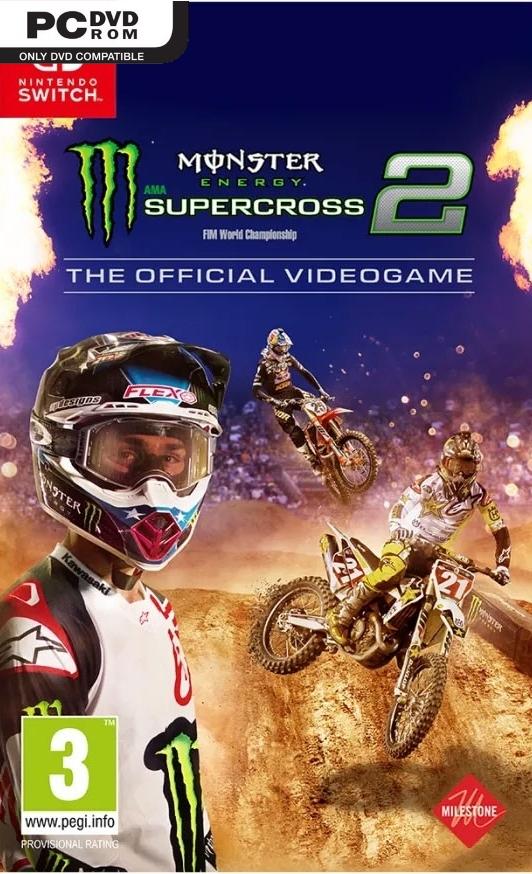Monster Energy Supercross - The Official Videogame 2 (2019) PC | პირატული
