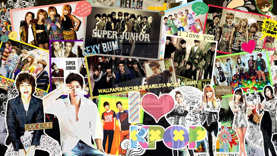 K-pop - 100 სტიკერი