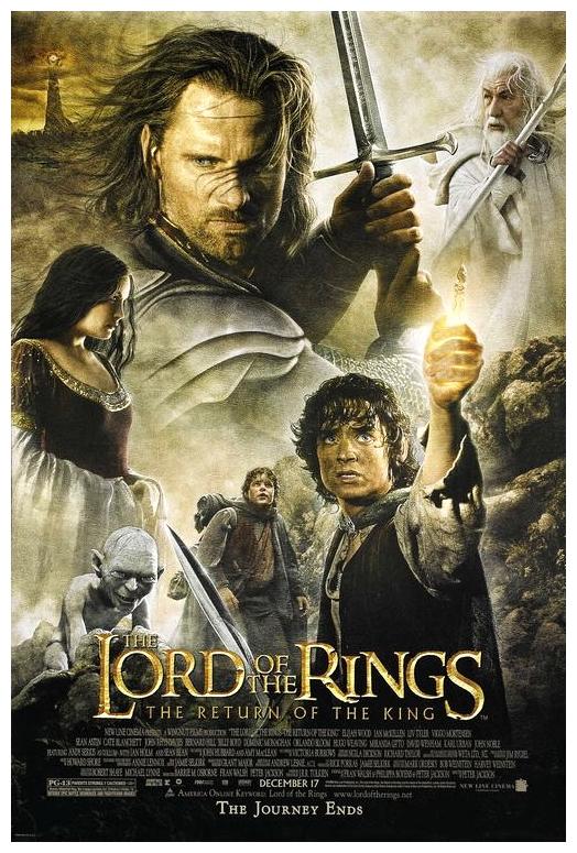 ბეჭდების მბრძანებელი 3–მეფის დაბრუნება / The Lord of the Rings: The Return of the King