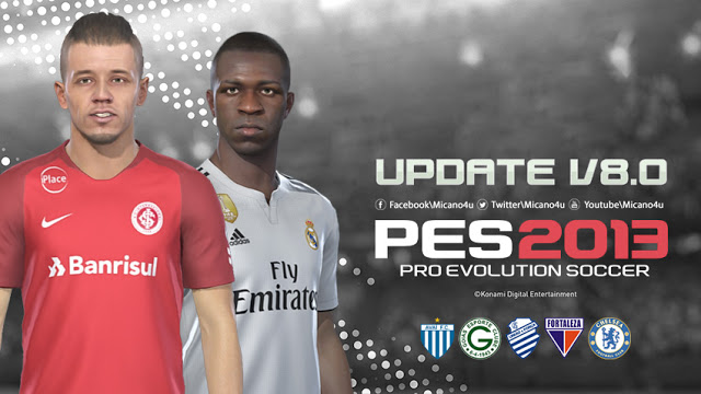PES 2013 Next Season Patch 2019 Update v8.0