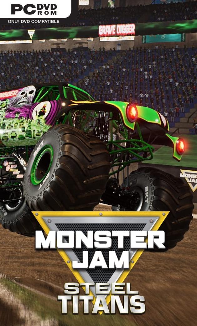 Monster Jam Steel Titans (2019) PC | პირატული
