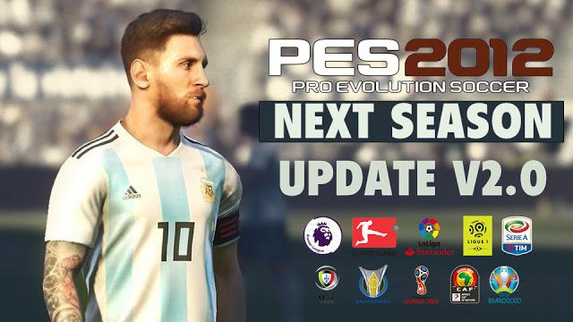 PES 2012 Next Season Patch 2019 Update V2.0