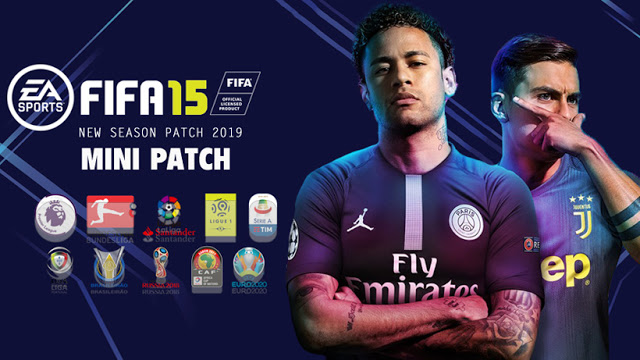 FIFA 15 New Season Patch 2018/2019 Mini Patch - FIFA 19 Edition