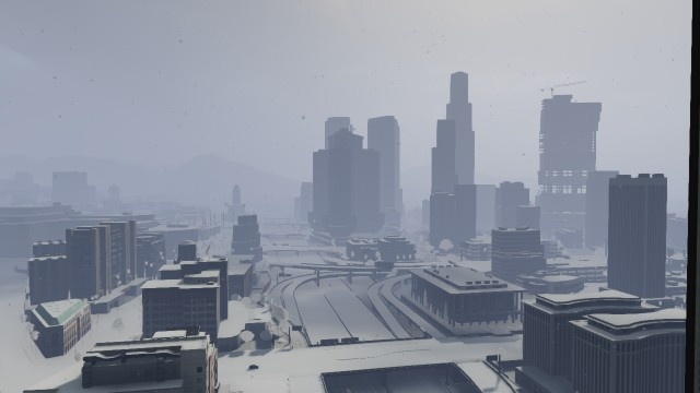 LS-Snow - თოვლი ლოსანტოსში (Filterscript მიმოხილვა)