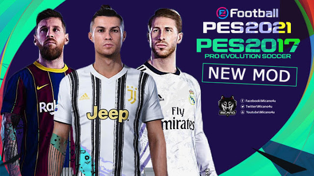 PES 2021 New Mod For PES 2017