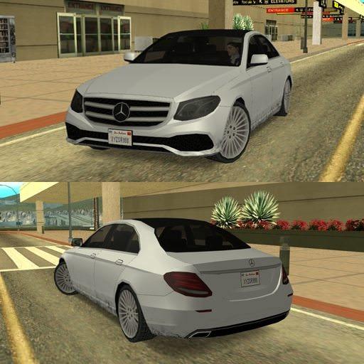 [GTA SA] Mercedes Benz E Class 2017 [LQ]