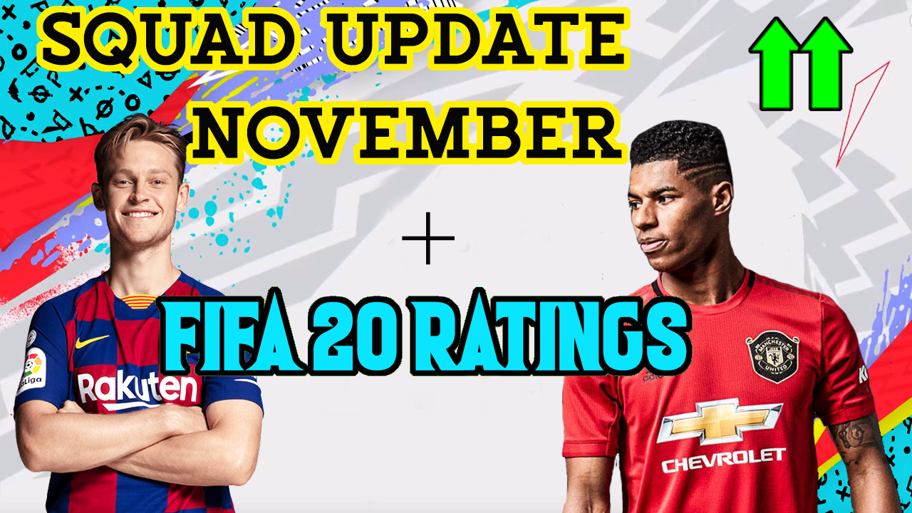 FIFA 19 SQUAD UPDATE NOVEMBER + FIFA 20 RATINGS