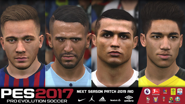 PES 2017 Next Season Patch 2019 All In One