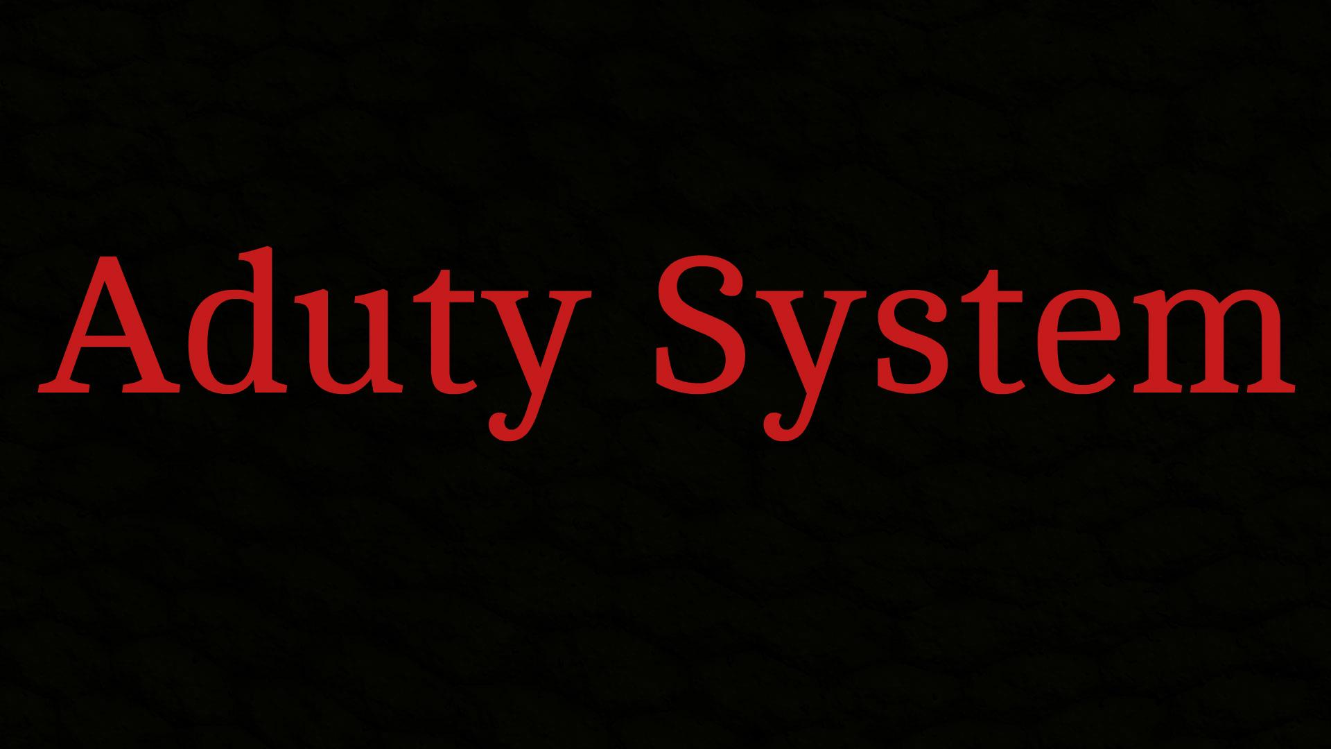 /Aduty System (დაყენების ინსტრუქცია)