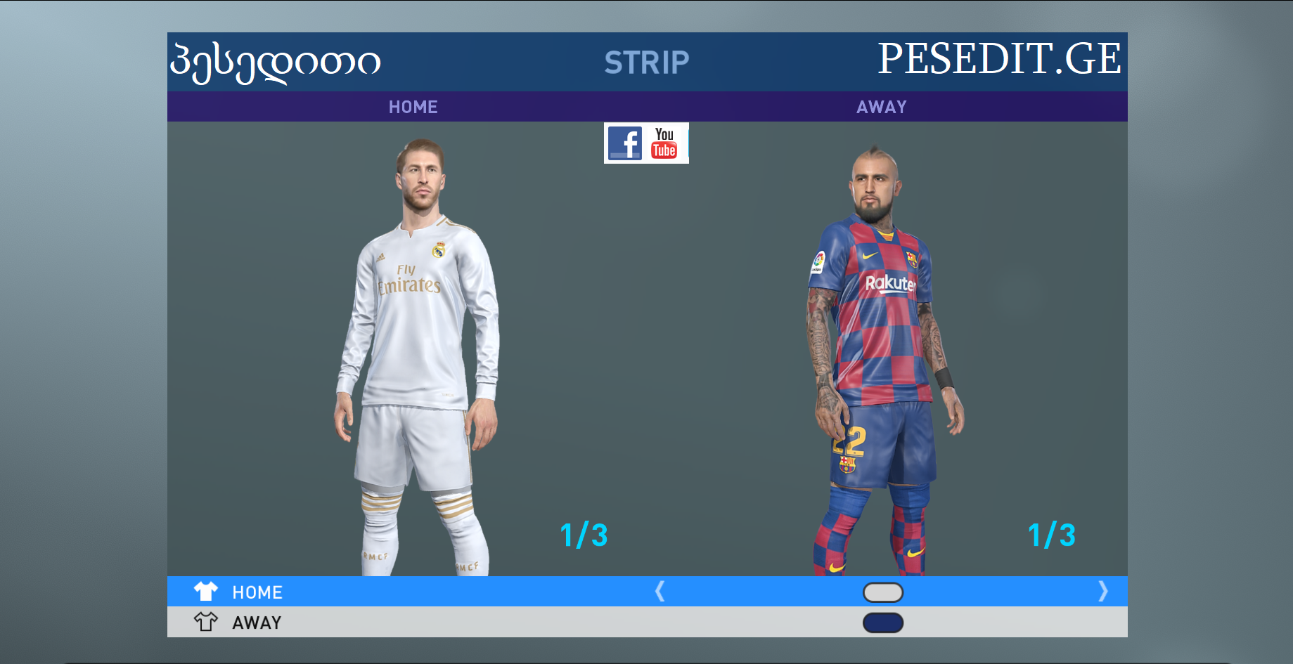 pes 19 PES PROFESSIONALS PATCH 2.0 UP BR 2019/2020 , FACES , KITS ,