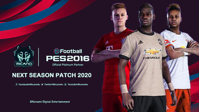PES 2016 Next Season Patch 2020