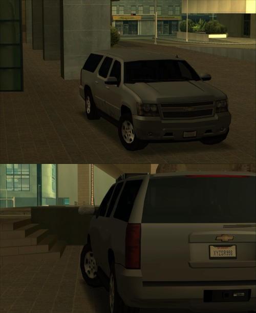 [GTA SA] Chevrolet suburban