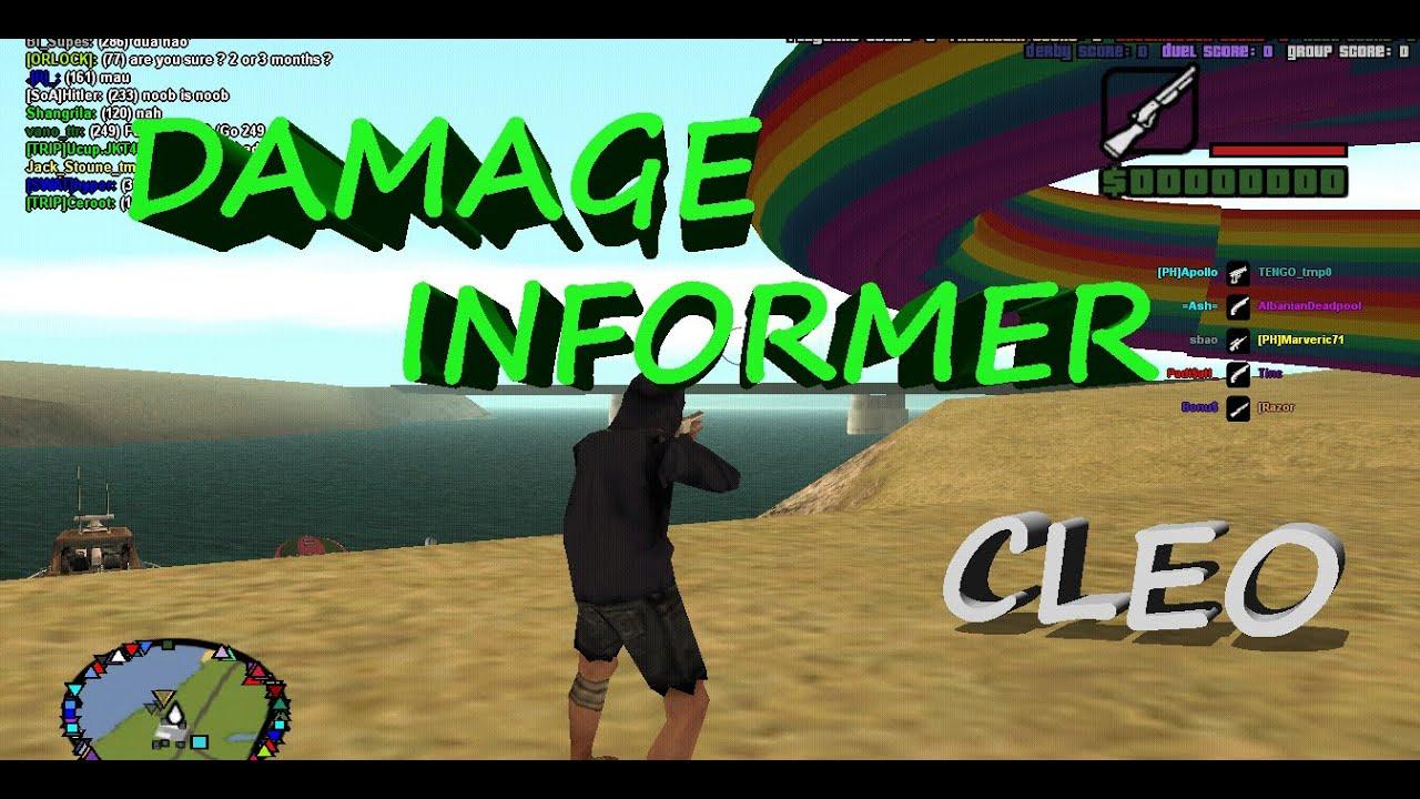 Damage informer