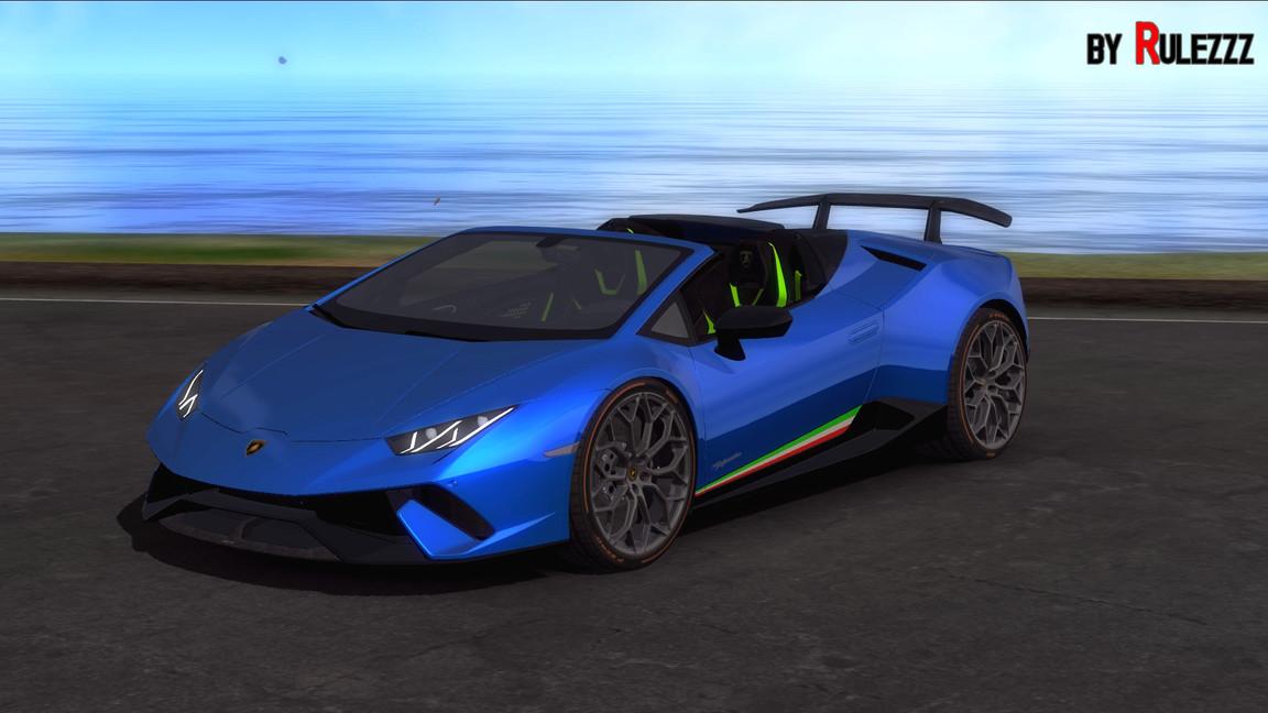 "TDU ""2019 Lamborghini Huracan Performante Spyder"""