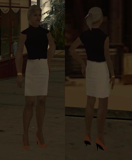 [GTA SA] Girl Skin N10