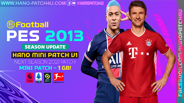 PES 2013 Next Season MINI Patch 2021
