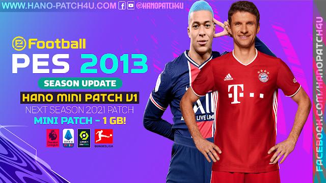 PES 2013 Next Season MINI Patch 2021