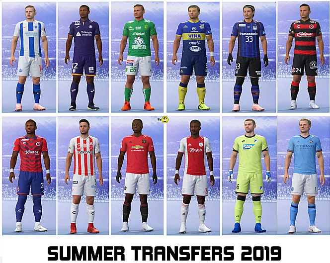TRANSFERS 2019 UPDATED ALL FIFA rosters on 25.06.2019