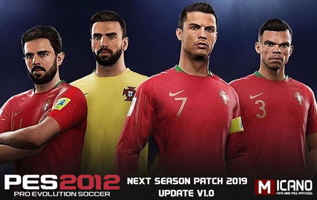 PES 2012 Next Season Patch 2019 Update V1.0