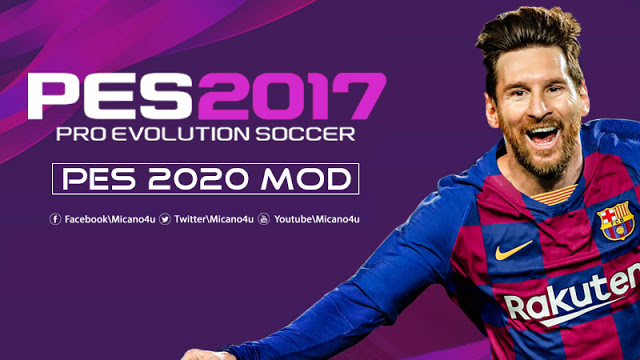 PES 2020 Mod For PES 2017 Beta