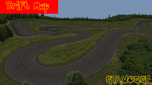 [MAP] Drift PlayGround MAP For GTA/SAMP !!