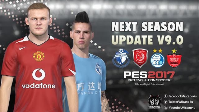 PES 2017 Next Season Patch 2019 Official Update V9.0