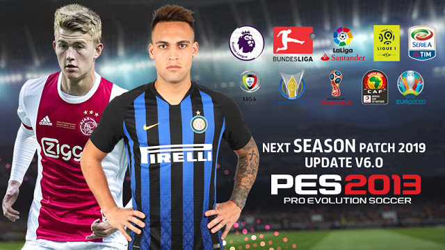 PES 2013 Next Season Patch 2019 Update v6.0