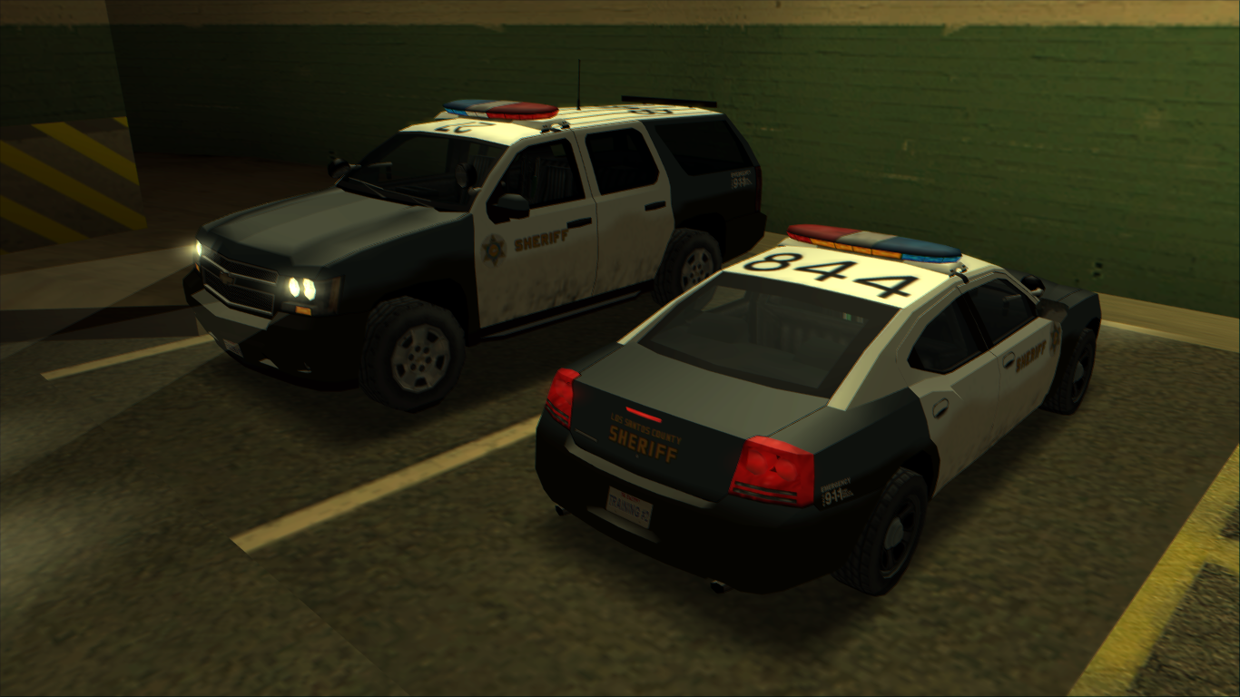 [GTA SA] Chevrolet Tahoe (2007) and Dodge Charger (2006)