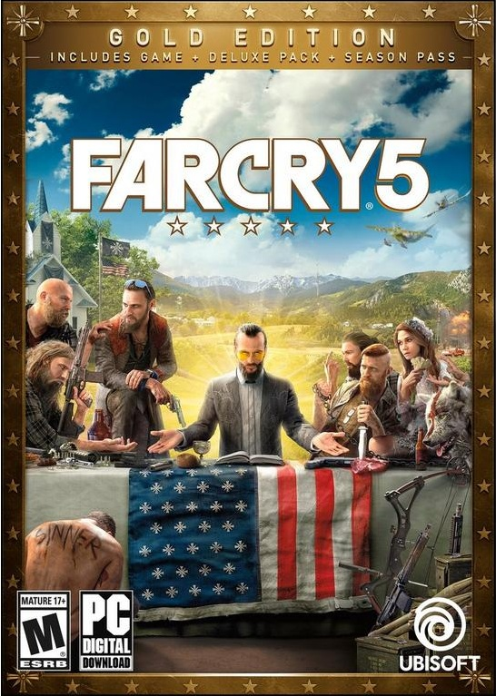 Far Cry 5: Gold Edition  |  Repack By FitGirl