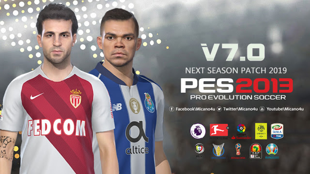 PES 2013 Next Season Patch 2019 Update v7.0