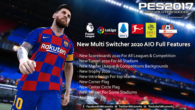 PES 2017 New Multi Switcher 2020 AIO