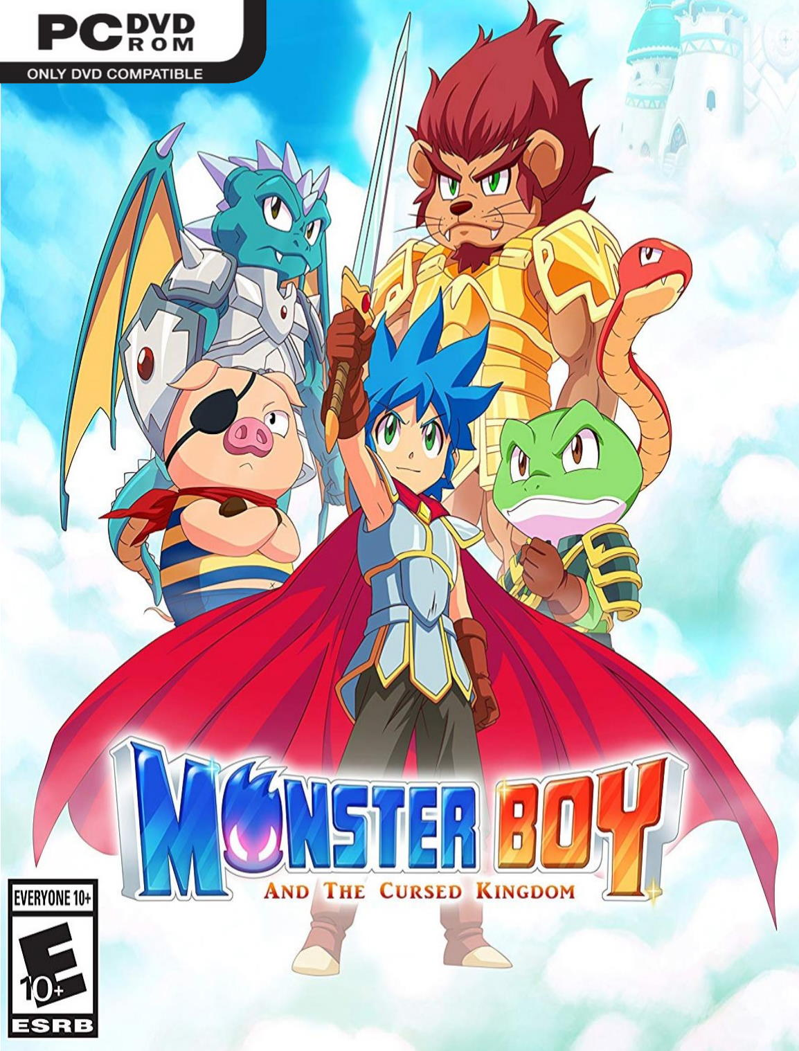 Monster Boy and the Cursed Kingdom (2019) PC | RePack By xatab