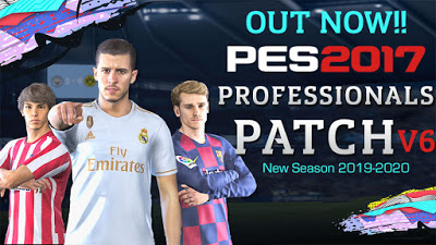 PES 2017 PES Professionals Patch 2017 6.0 AIO Season 2019/2020