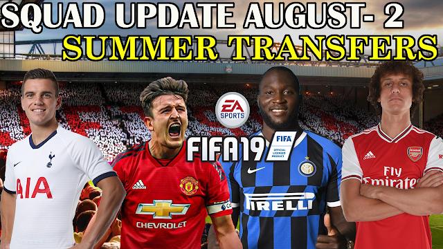 FIFA 19 SQUAD UPDATE