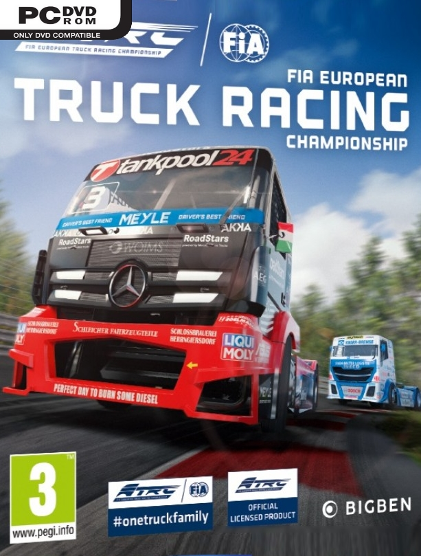 FIA European Truck Racing Championship (2019) PC | პირატული