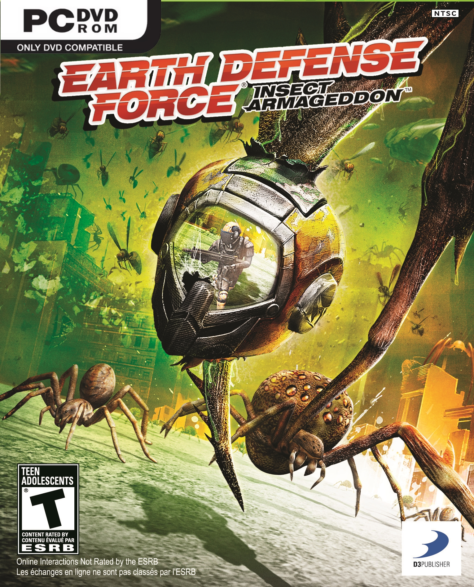 Earth Defense Force: Insect Armageddon PC | პირატული