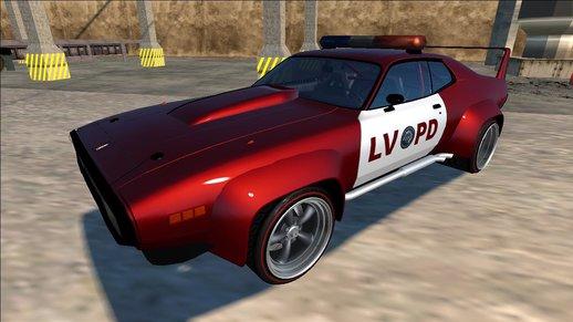 1972 Plymouth GTX Custom Police LVPD