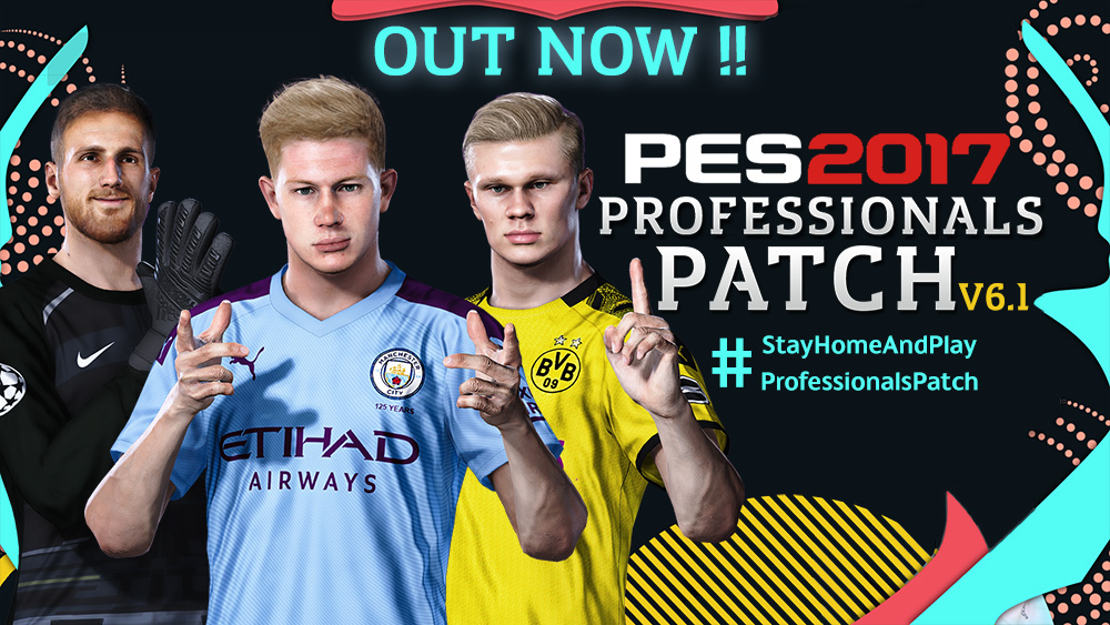 PES 2017 Professionals Patch Update V6.1