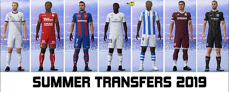 All new transfers  Included latest  oficial FIFA 19 ULTIMATE edition update 06/3/2019)  and new and missing transfers!