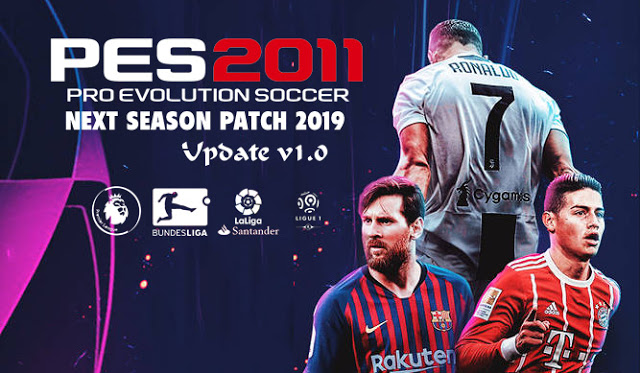 PES 2011 Next Season Patch 2019 Update 1.0