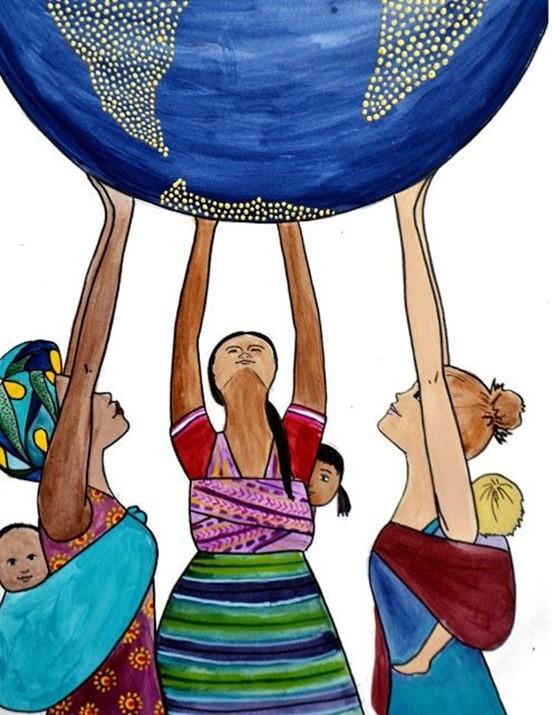 ქალები, რომლებიც შრომობენ და იბრძვიან ცვლილებებისთვის