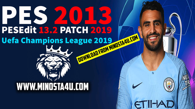 PESEdit 13.2 Patch 2019 For PES 2013