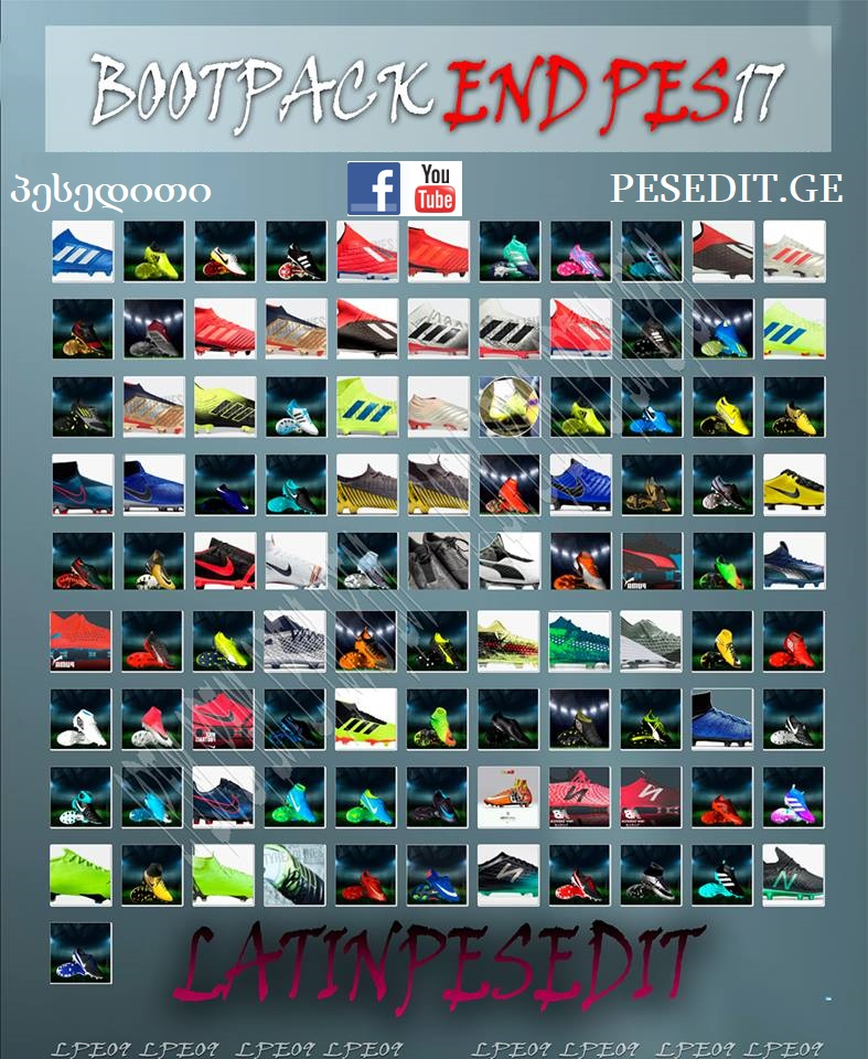 Boots Pack PES 2017