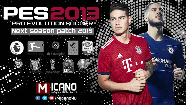 PES 2013 Next Season Patch 2019